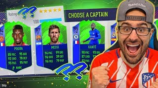 AMAZING HIGHEST RATED DRAFT!! FIFA 18 Ultimate Team Draft