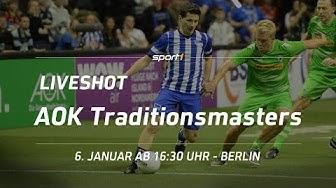 ReLIVE   Hallenfußball   AOK Traditionsmasters Berlin   06.01.2018   SPORT1