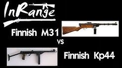 Finnish M31 vs KP44 - SMG Live Fire Comparison