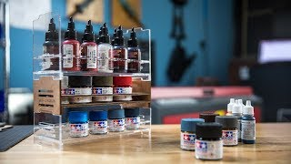 Custom Model Paint Racks for the Tested Workshop!