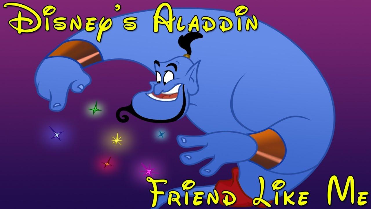Disneys Aladdin Cover