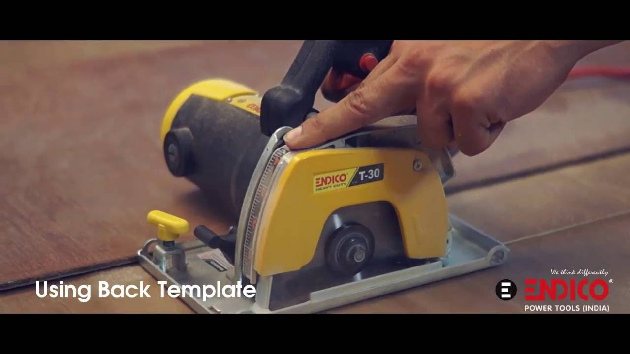 Wood Cutter T30 By Endico Power Tools India Youtube