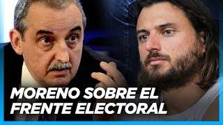"""""""A pesar de todas las diferencias Grabois tiene que estar en el frente electoral"""" Guillermo Moreno"""