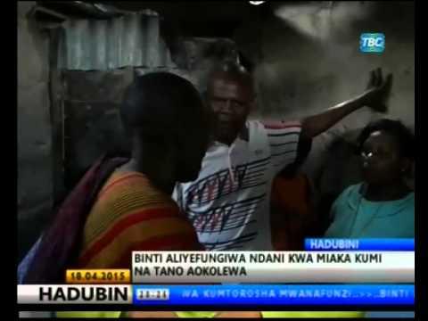 Matatani kwa Kumfungia Mtoto kwa Miaka 15 | TBC HABARI