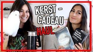 KERSTCADEAUTJES HAUL + UPDATE