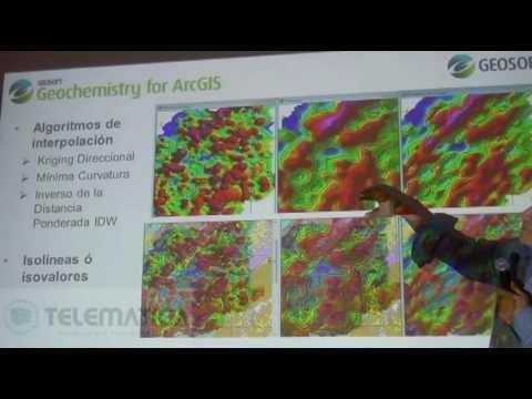 Plataformas Oasis Montaj Target for ArcGIS Geochemistry