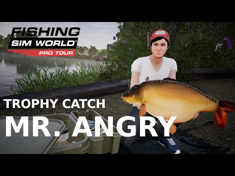Fishing Sim World Trophy Catch  |  Mr. Angry from Gigantica |