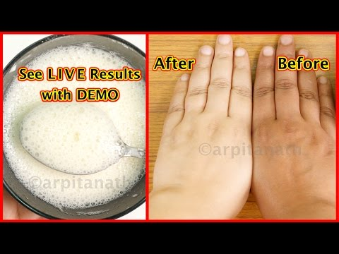 15 Minutes Skin Whitening Foaming Facial Bleach || Get Fairer & Tighter Skin || 100% Natural
