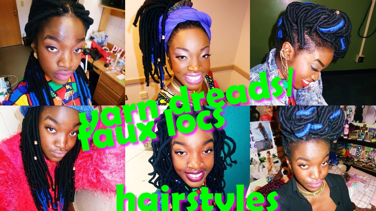 Yarn DreadsFaux Locs Hairstyles Also For Box Braids