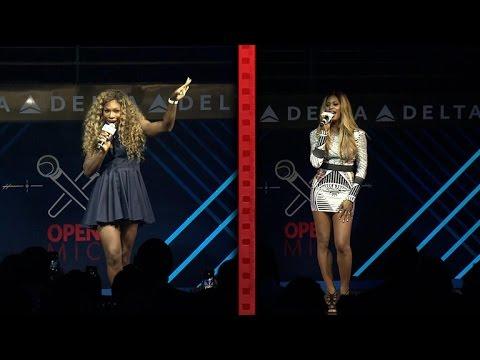 Serena Williams & Laverne Cox Sing Karaoke