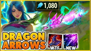 RIOT made Ashe's NEW ARROW a DRAGON (PAY TO WIN) - BunnyFuFuu | League of Legends