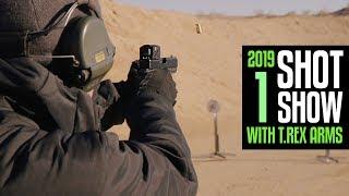 2019 SHOT Show with T.REX ARMS - Part 1