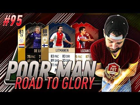 EREDIVISIE SQUAD BUILDER! FUT CHAMPIONS REWARDS! Poor Man RTG #95 - FIFA 18 Ultimate Team