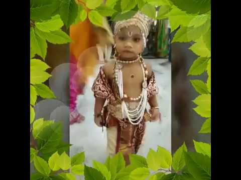 CUTE BABY LITTLE KRISHNA VIDEO