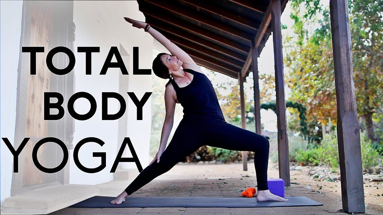 20 Minute Total Body Yoga Workout (for Flexibility And Strength) |  Fightmaster Yoga Videos