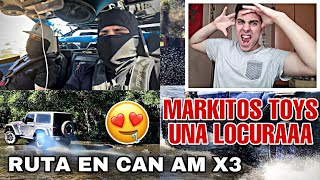 REACCIONO A Markitos TOYS - RUTA EN CAM AM ×3   LOS TOYS