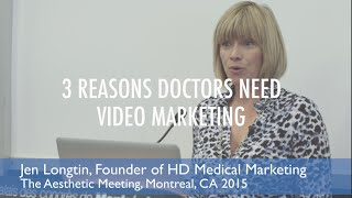 Gambar cover Three Reasons Every Physician and Dentist Needs An Online Video Strategy - Jen Longtin