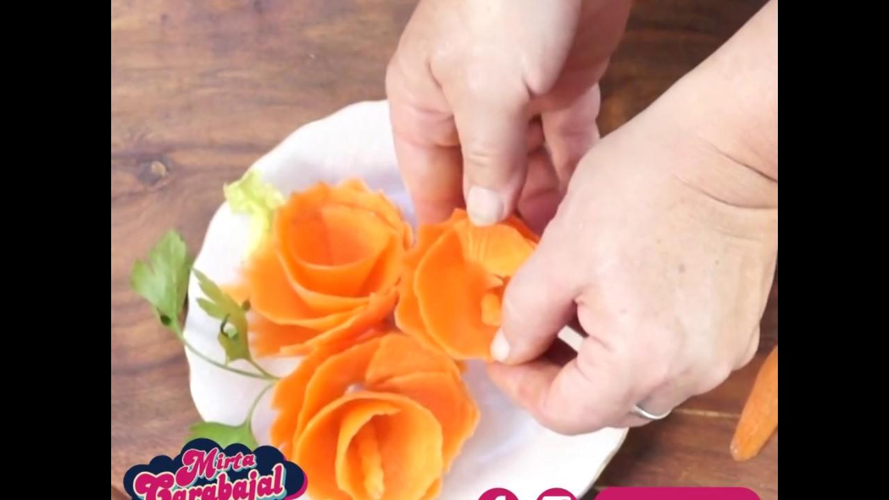 Tips De Cocina Flores De Zanahoria Mirta Carabajal Youtube Ho ho ho🎅🐰 la naviada ya llego a zanahoria refugios, y trajo con ella muchas ofertas para tu conejito. tips de cocina flores de zanahoria mirta carabajal