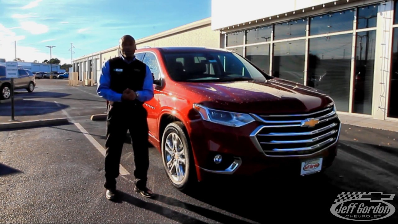 Jeff Gordon Chevrolet >> 2018 Chevrolet Traverse Overview Full Jeff Gordon Chevy Youtube