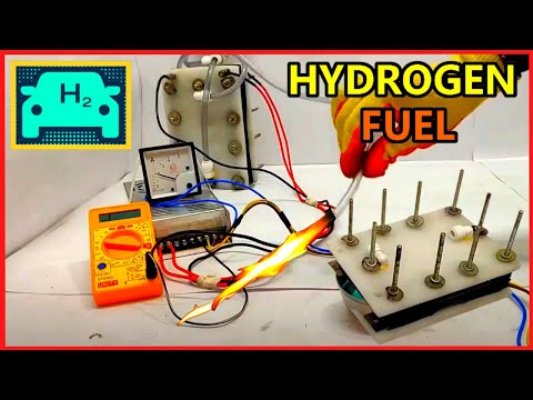 How To Split Hydrogen & Oxygen From Water Using Dry Cell At High Efficiency In Home