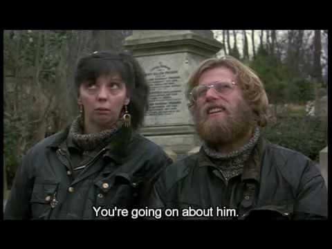 Mike Leigh  High Hopes 1988 Highgate Cemetery Karl Marx