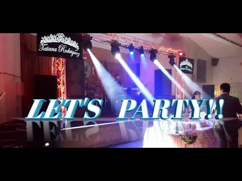 DJ GIG LOG !!! FULL SETUP!! UNA QUINCEANERA MAS EN LA CIUDAD DE GARDENA CA.