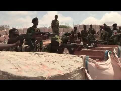 How is training forces in Somalia