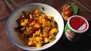 Peach, Mango and Nectarine Salad