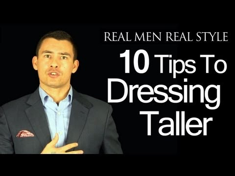 Style Tips for Short Men: How to Dress Taller | The Art of Manliness