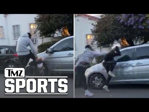 Vidéo : J.R. Smith tabasse un homme qui aurait vandalisé sa voiture