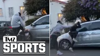 J.r. Smith Beats Up Alleged Car Vandalizer During L.a. Protests | Tmz Sports