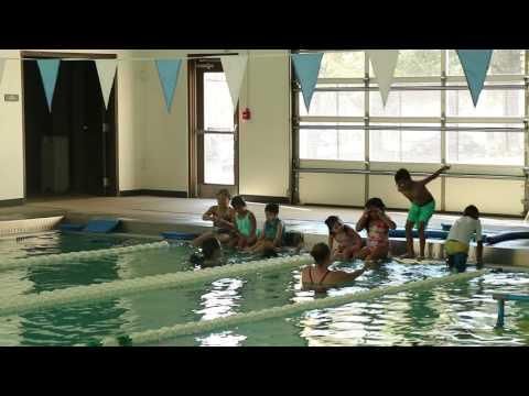 Upstate Splash Charity teaching children to swim at Greenville County Aquatic Complex