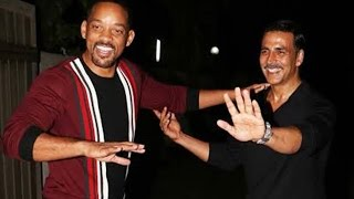 Akshay Kumar parties with Hollywood star Will Smith