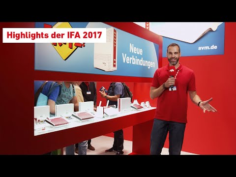 Die AVM-News direkt vom IFA-Stand