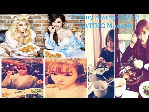 180207 - Girls' Generation tiffany hwang (티파니)  EATING Moment SPECIAL Episode.39