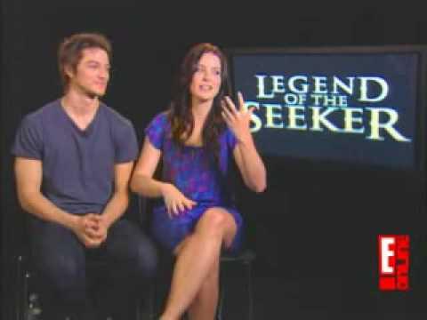 E Online Interview de Craig Horner et Bridget Regan - Legend of the Seeker