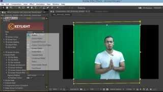 تغير خلفية الفيديو عن طريق إزالة الشاشة الخضراء أو الكروما ببرنامج After Effects