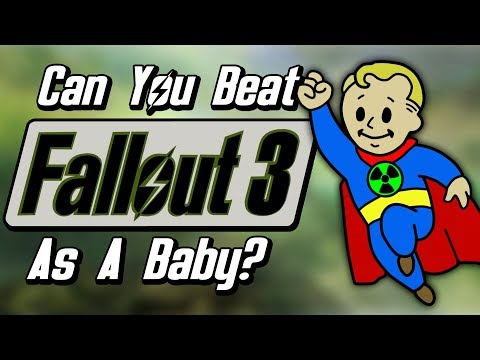 Can You Beat Fallout 3 as a Baby?