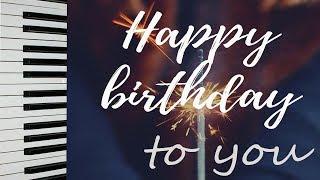 HAPPY BIRTHDAY TO YOU Song Piano ПЕСНЯ пианино Как играть C Днем Рождения Тебя С Днём Рожденья Тебя