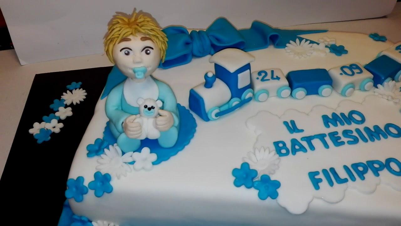 Torta battesimo bimbo