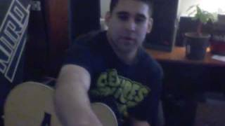 Chris Daughtry- Crashed (Acoustic) Ben Rod Cover