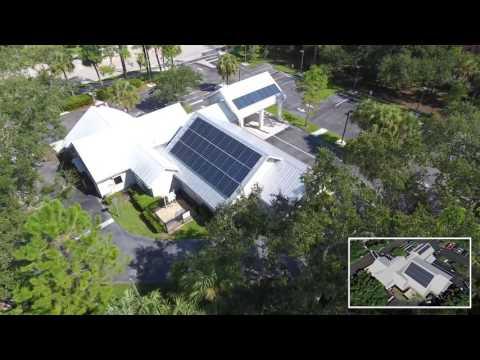 Sanibel Captiva Community Bank McGregor Blvd Branch Solar Panels
