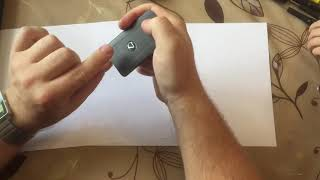 замена батарейки в ключе Lexus LS460/600 2013-2017 года