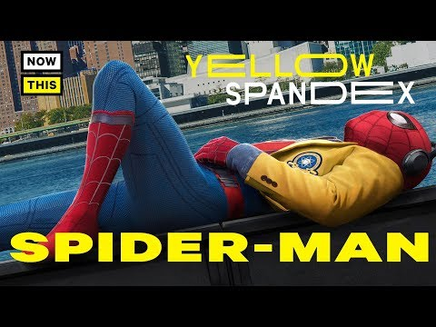 The Evolution of Spider-Man's Costume | Yellow Spandex #1 | NowThis Nerd