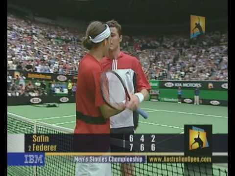 Federer v Safin: 2004 Australian Open Men's Final Highlights