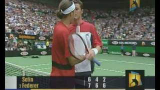 Highlights from the 2004 australian open men's final between roger federer (sui) and marat safin (rus).