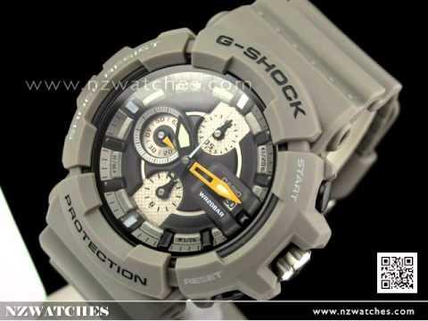 Casio G-Shock Screw Lock Crown 200M Chronograph Watch GAC-100-8A ... 0d79c4dfd