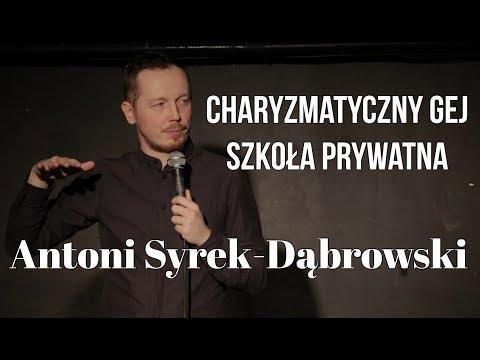 Antoni Syrek-Dąbrowski - Charyzmatyczny gej i szkoła prywatna (fragment programu Everyman)