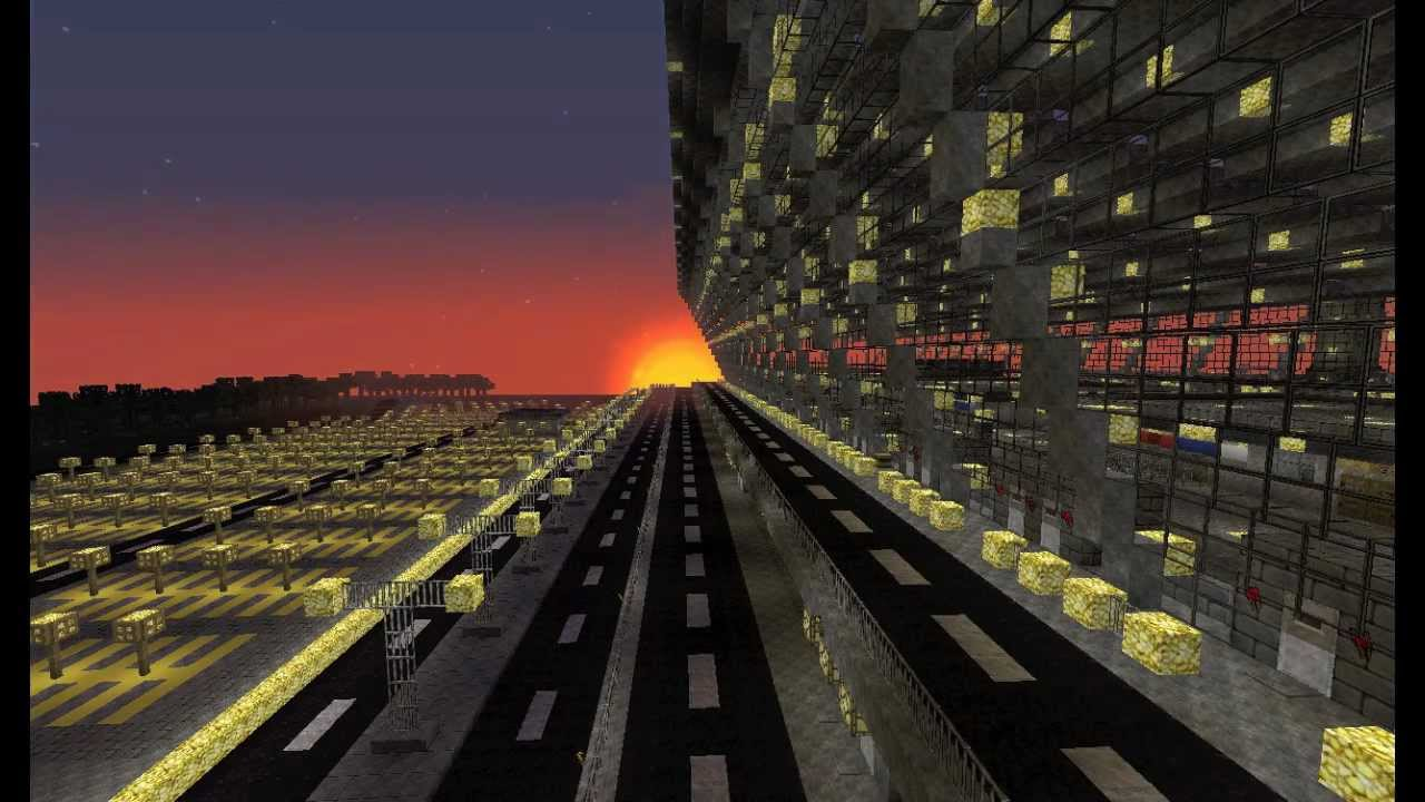 Minecraft Dulles Airport Showcase - YouTube