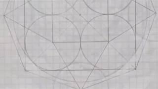 Proporción áurea en geometría y la cuadratura del círculo (Alquimia básica)
